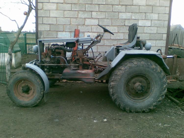 картинки тракторов самоделок становится