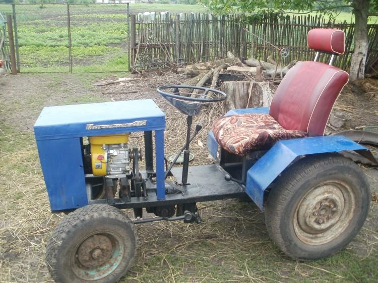 картинки самодельного трактора примером грубого инструментария